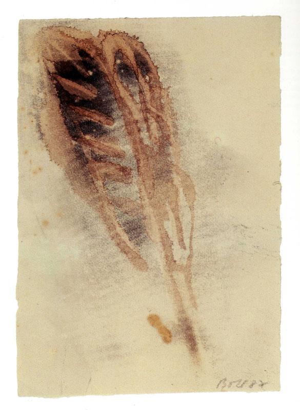 Miklos Bokor, desssin original, tirage de tête, Paul Celan, Poèmes, Editions Unes, 1987