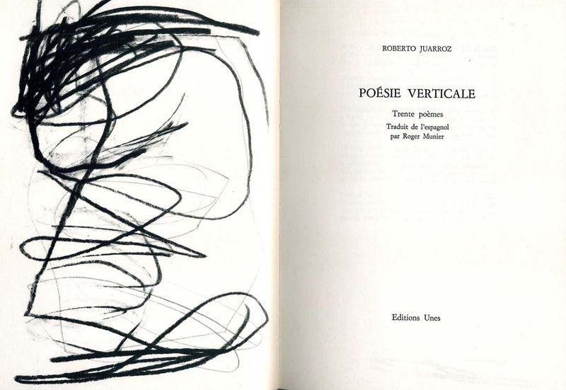 Roberto Juarroz, Tente poèmes, frontispice de Didier Demozay