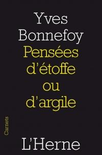 Bonnefoy, d'étoffe ou d'argile
