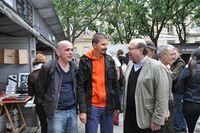 Luc Benazet, Benoit Casas et Jean Patrice Courtois