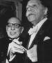 Monteux et Stravinsky
