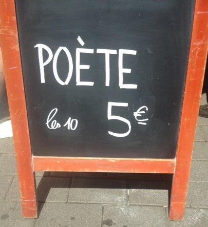 Poète retouché