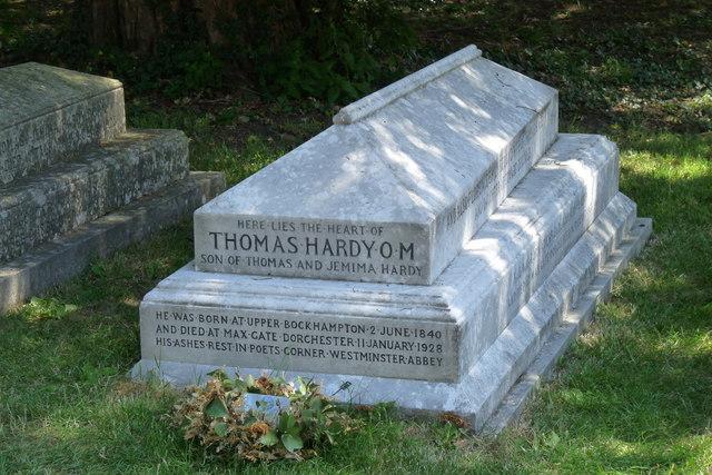 Hardy  tombe