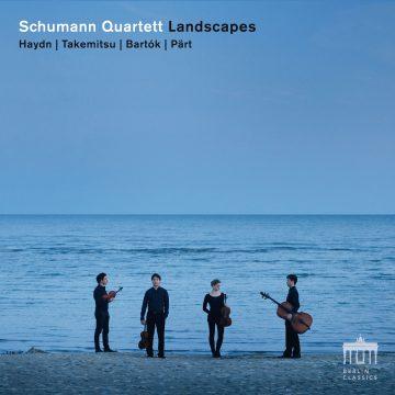 Schumann Quartet  pochette Landscapes