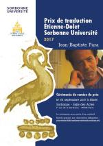 Affiche prix traduction