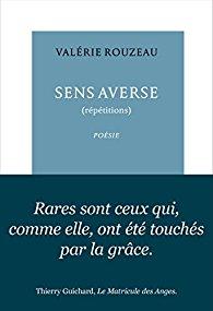 Valérie Rouzeau  sens averse