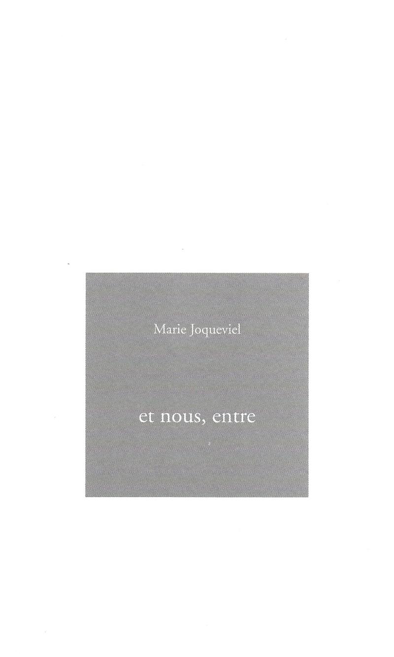 Marie Joqueviel  livre