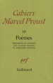 Cahiers marcel proust poemes