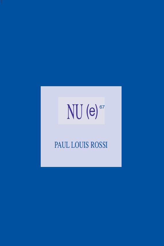 Couverture nue Paul Louis Rossi