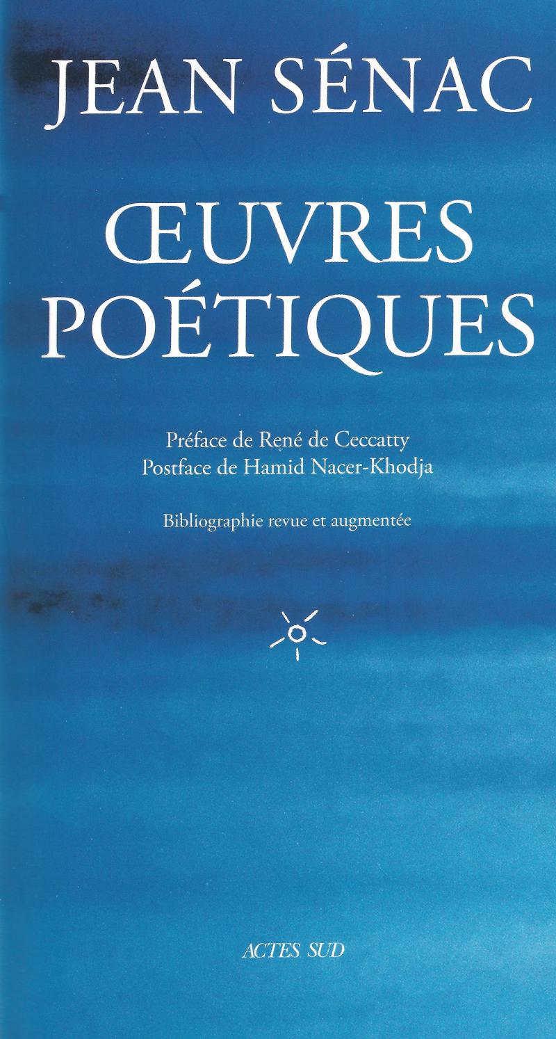 Jean Sénac  oeuvres poétiques