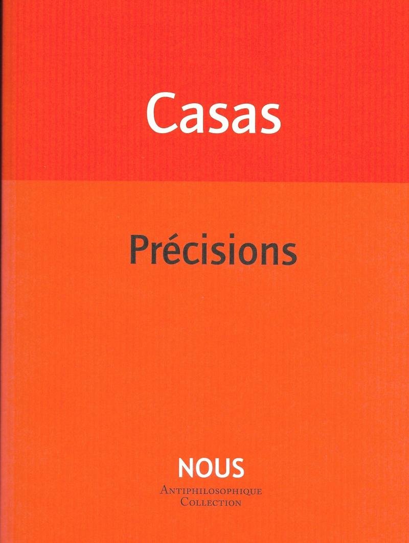 Benoit Casas  précisions