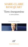 Marie Claire Bancquart  poésie gallimard