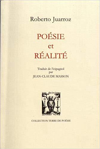 Roberto Juarroz  poésie et réalité