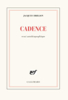 Jacques Drillon  Cadences