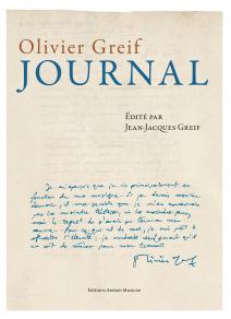 Olivier Greif  journal