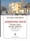 Paroles_d_un_monde_difficile_adrienne_rich_cover