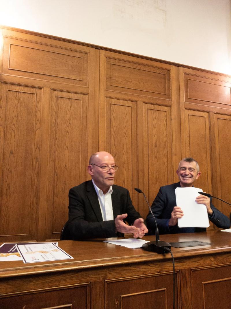 Marc de Launay et Bernard Banoun