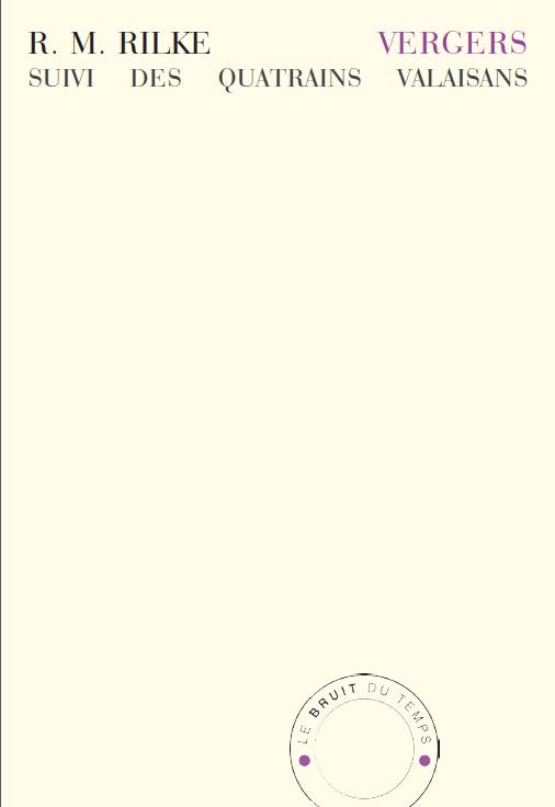 Rainer Maria Rilk  vergers