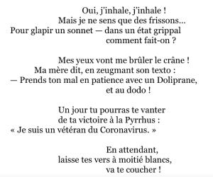 Sonnet de Pierre