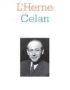 Paul Celan  Cahier de l'Herne