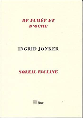 Ingrid Jonker  de fumée et d'ocre