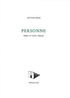Antoine Emaz  Personne