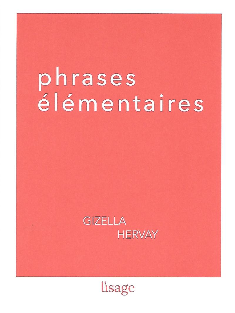 Gizella Hervay  phrases élémentaires