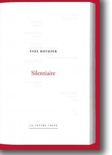 Yves Boudier  Silentiaire