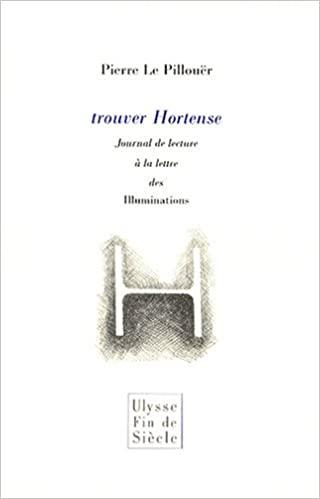 Piere Le Pillouër  Trouver Hortense