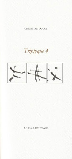 Christian Ducos  triptyque 4