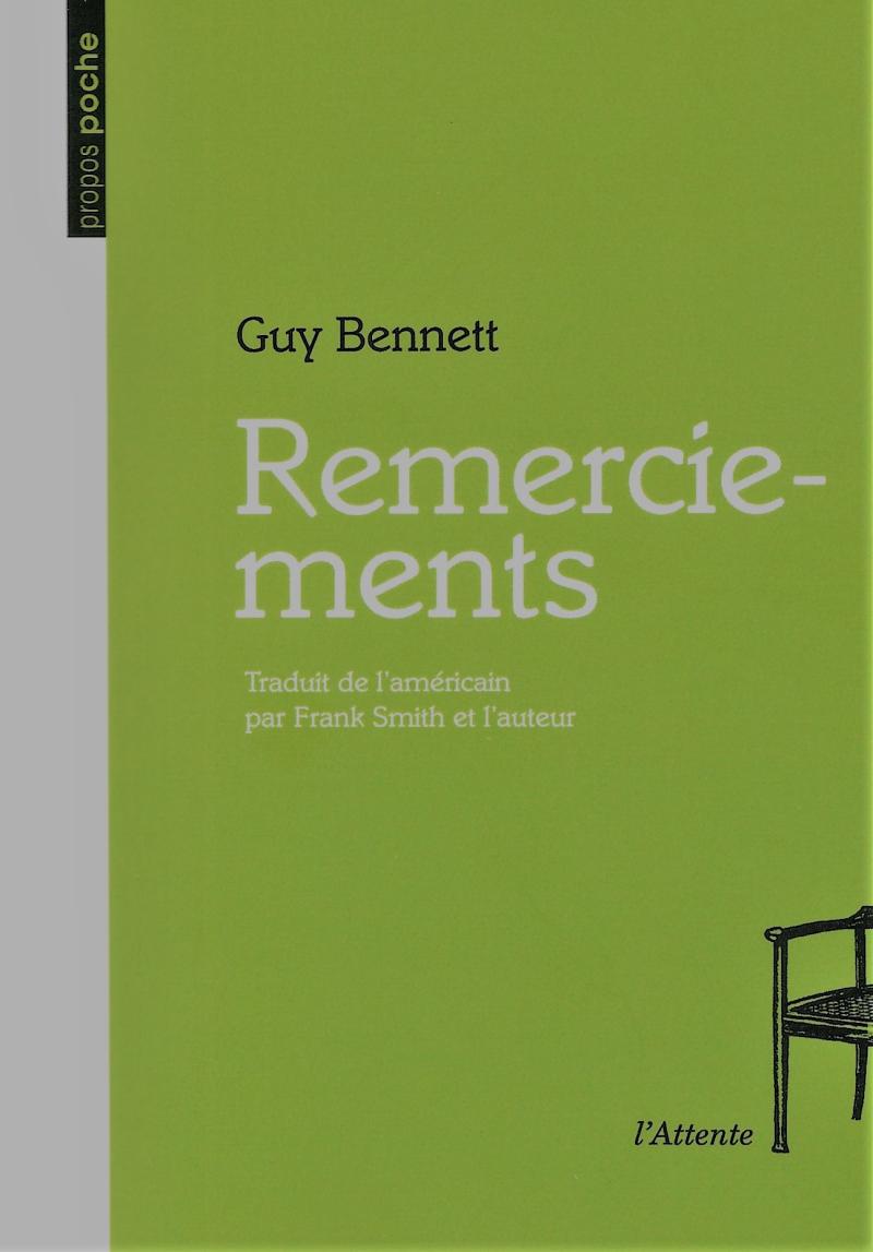 Guy Bennett  Remerciements