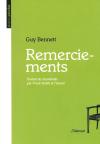 Guy Bennett  remerciements  2