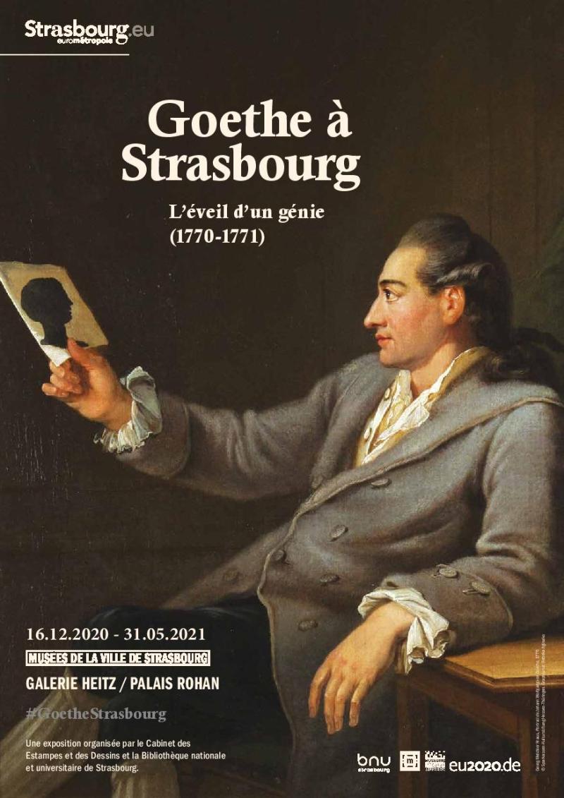 Goethe à Strasbourg  l'éveil d'un génie