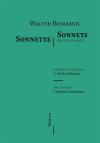 Walter Benjamin  sonnets