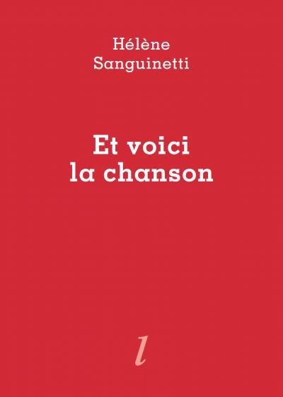 Hélène Sanguinetti  Et voici la chanson